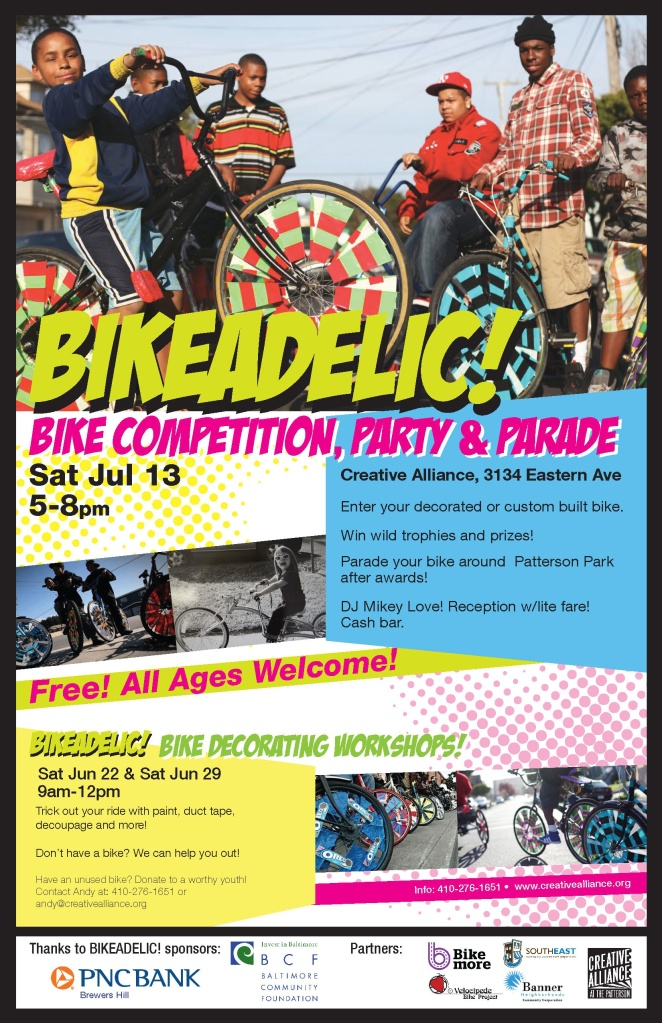 Bikeadelic PosterV3 English