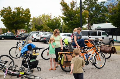 "Show-and-tell with ""Pedal Parents"""