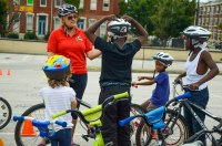 Bike Rodeo workshop with Bike Maryland
