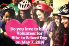 Spread the biking love! Get your school involved with Bike to School Day this spring