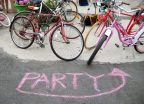 Tonight! End of Summer Bike Party Celebration with Bikemore & North Barclay Green Community Center